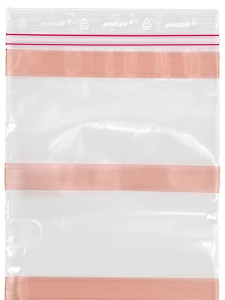 Minigrip blixtlåspåse med tejp från JOKA
