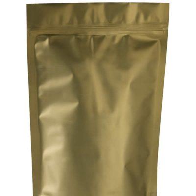 Lamizip® laminerede lynlåsposer mat guld